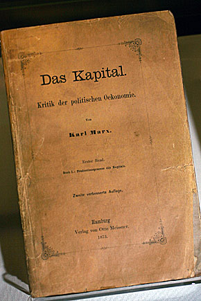 Darwin's Personal Copy of Das Kapital