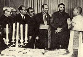 Kard. Casaroli podejmuje Castro w 1967 r.