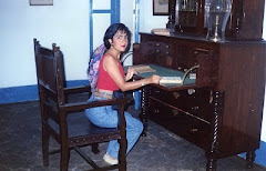 En el escritorio de José María Heredia