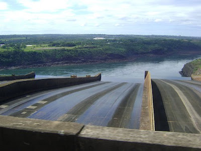 Itaipu hydroelectric dam