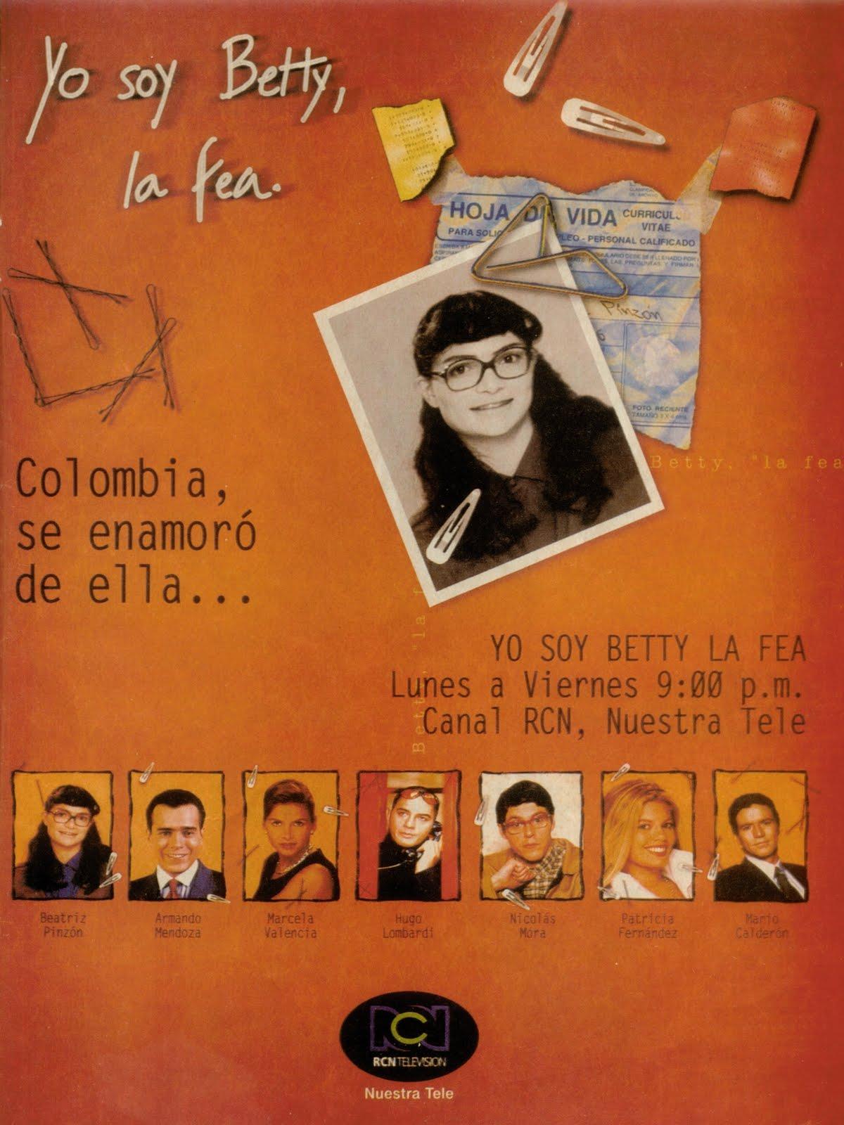Publicidad Yo soy Betty, la fea 2000 (Impreso)