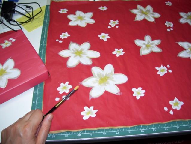 Catru: Pintando un poco / Little painting