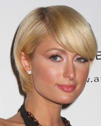 latest hairstyles from stylists ,Paris Hilton