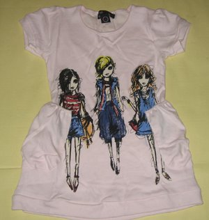 Dress Guess Girl Kantong Samping 2-12thn Rp.65.000,-