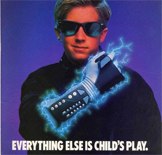 Please Note: Power Glove not guarenteed to make you look cool. Often times you'll just look silly.