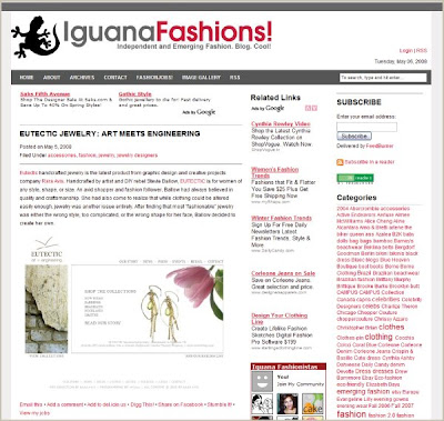 EUTECTIC on IguanaFashions.com