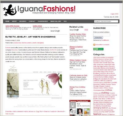 EUTECTIC on IguanaFashions.com