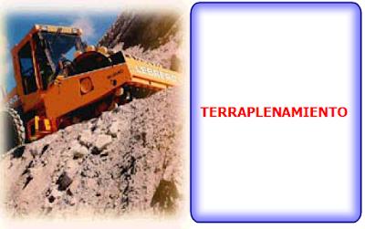 Obra Civil| Movimiento de Tierra,Terraplenes, foto de una compactadora trabajando en un terraplén
