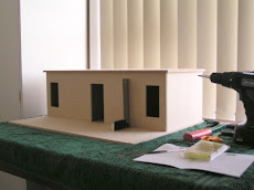 My one dollhouse - building off plan
