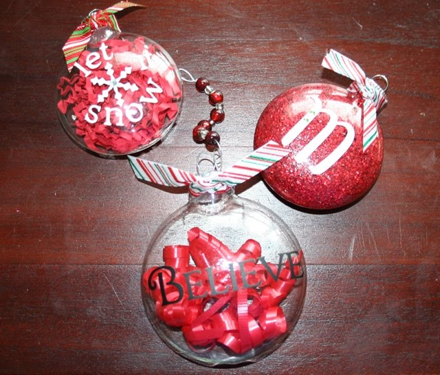 How to Make beautiful hand painted glass Christmas ornaments
