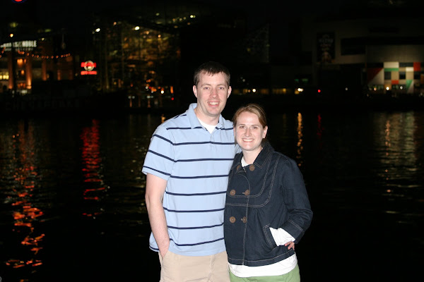 Brian and I in Baltimore