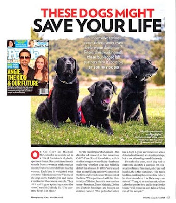 people magazine. People Magazine article