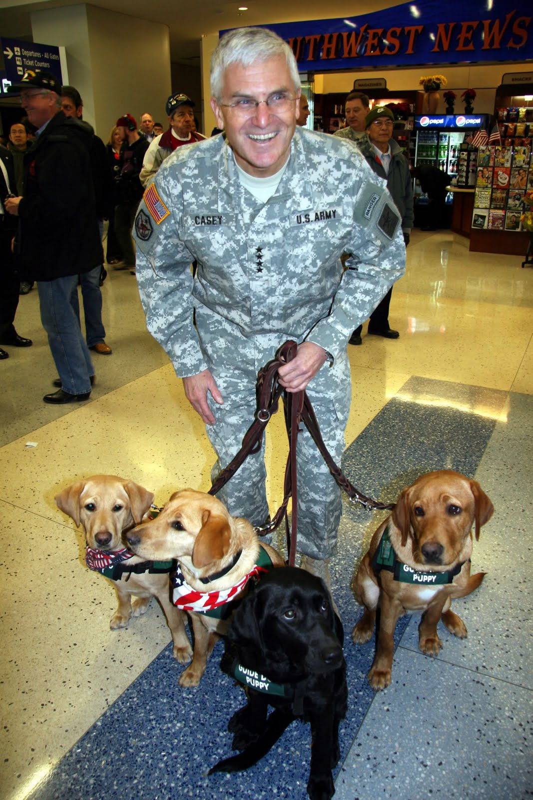 No Bones About It Guide Dogs For The Blinds Blog Great Day In Texas