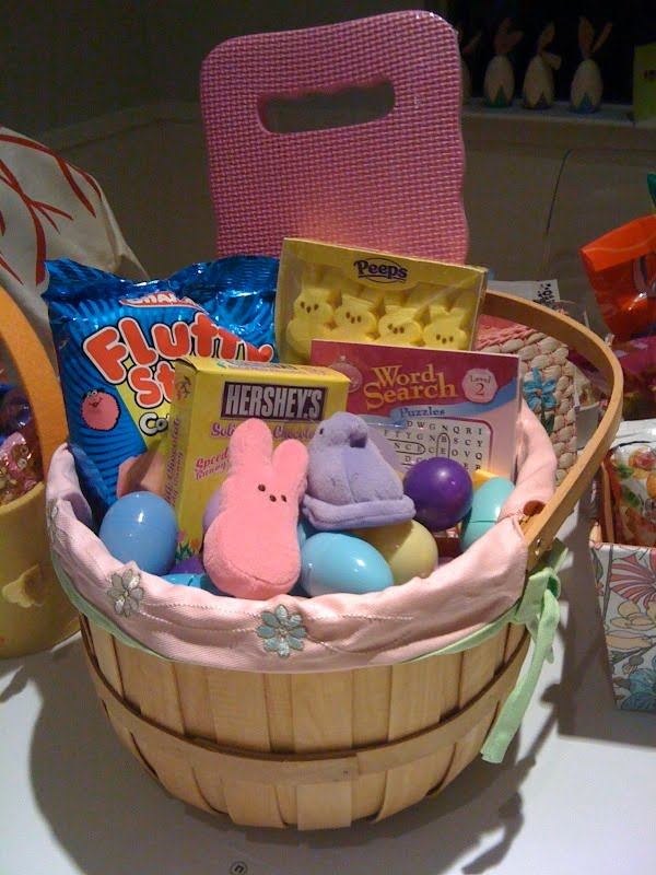 I can totally make that diy the makings of an easter basket my adorable niece and nephew visited during easter and i had great fun putting together their easter baskets and hiding eggs all around the house negle Choice Image