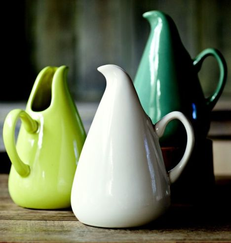 I can totally make that vintage monday russell wright modern dinnerware - Russel wright pitcher ...
