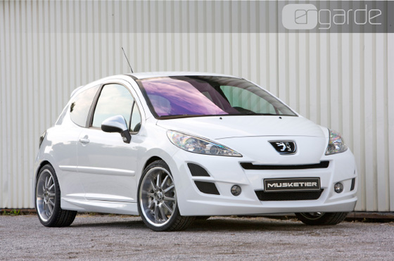 peugeot 207 peugeot 207 passa por tuning. Black Bedroom Furniture Sets. Home Design Ideas