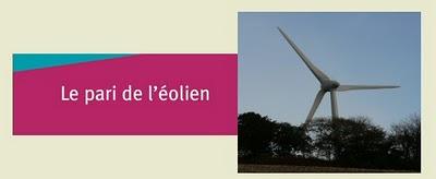 Dossier le Pari Eolien