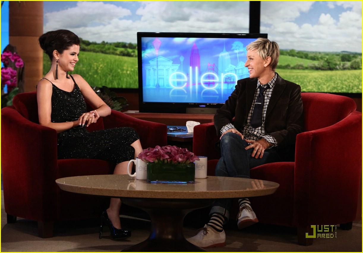 Disney stars selena gomez en el show de ellen - Ellen show videos ...