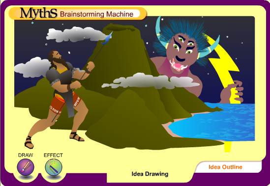 myths brainstorming machine