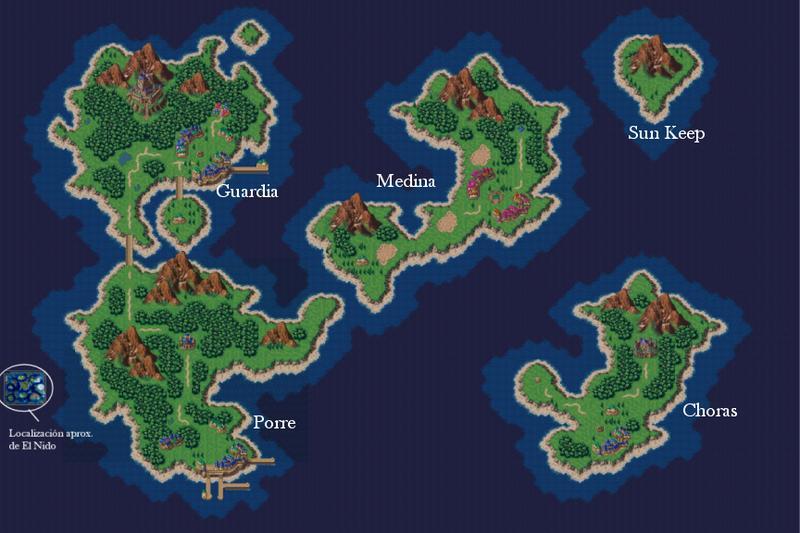 Mapa Actual