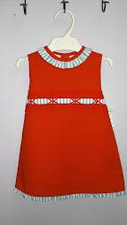 vestido talla  1 y 2