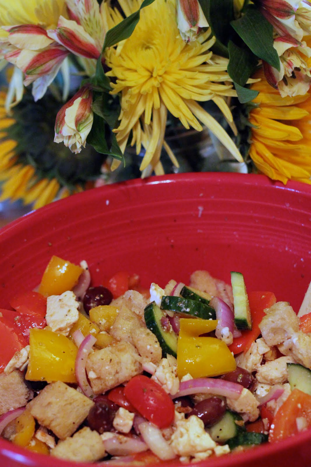 Cook Eat Repeat Week 47 Greek Panzanella