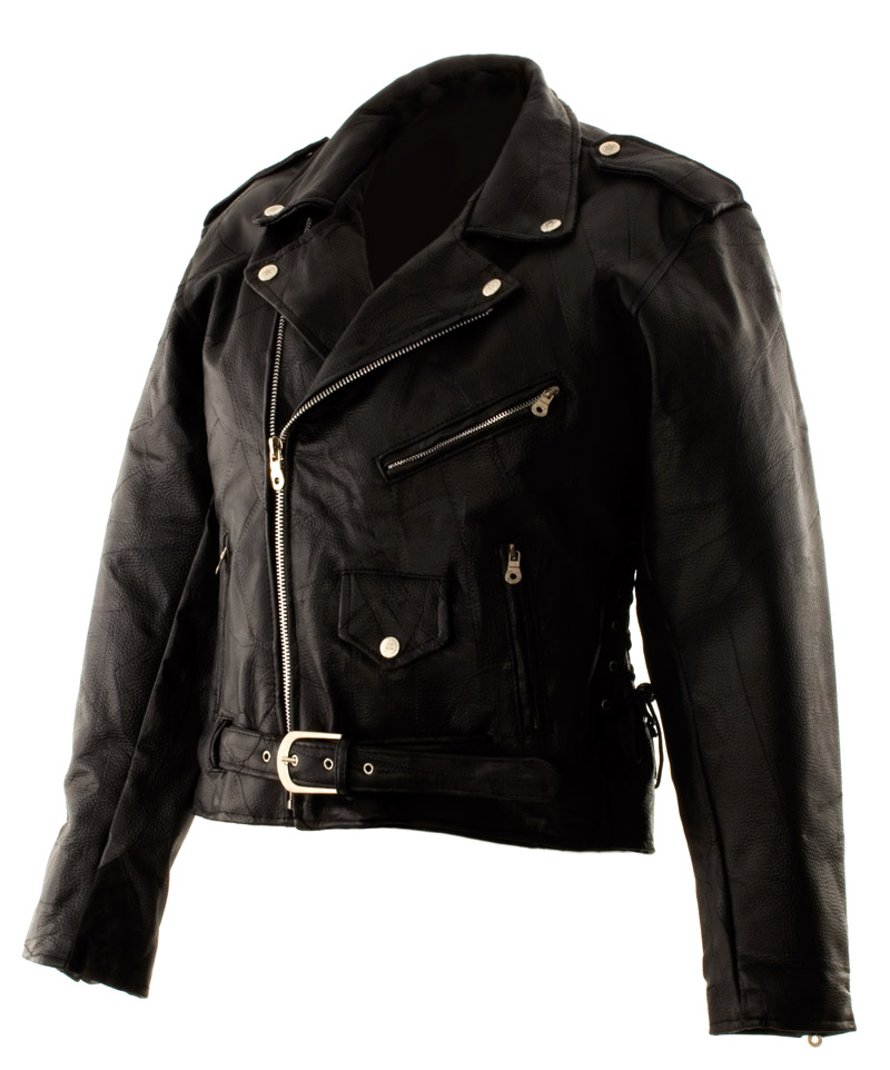 Dakota Leather Women Classic Leather Motorcycle Jacket