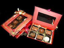 6pcs pralines in exclusive box