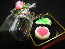 2pcs praline in transparent box