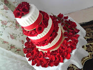 3tiers wedding cake wt FF
