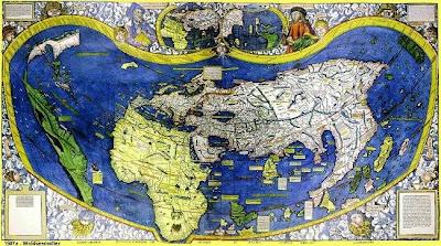 Amerigo Vespucci Map Of America.Goodbye Kneidel The Pickle Dealer From Seville
