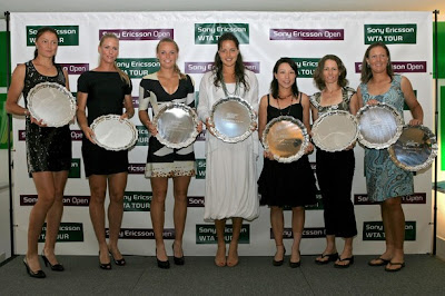 Pictures from the 2009 WTA Tour player awards in Miami