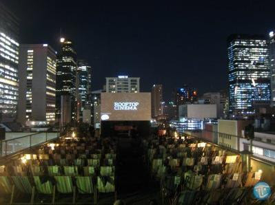 Rooftop Bar & Exterior Cinema in Melbourne, Australia
