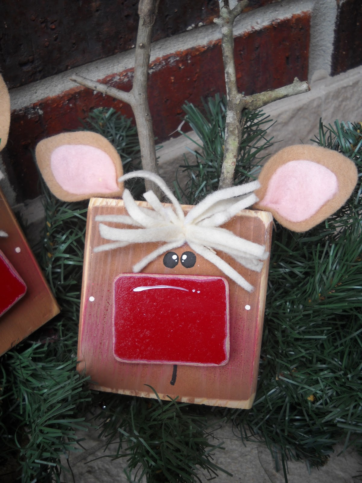 Wooden Blocks For Crafts ~ Craft goodies word of the month december