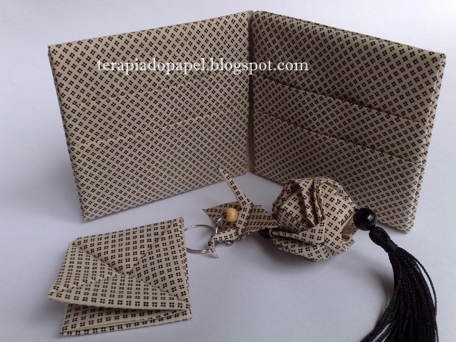 Bolsa Em Origami De Tecido : Mastercuca origami tecido carteira receita de