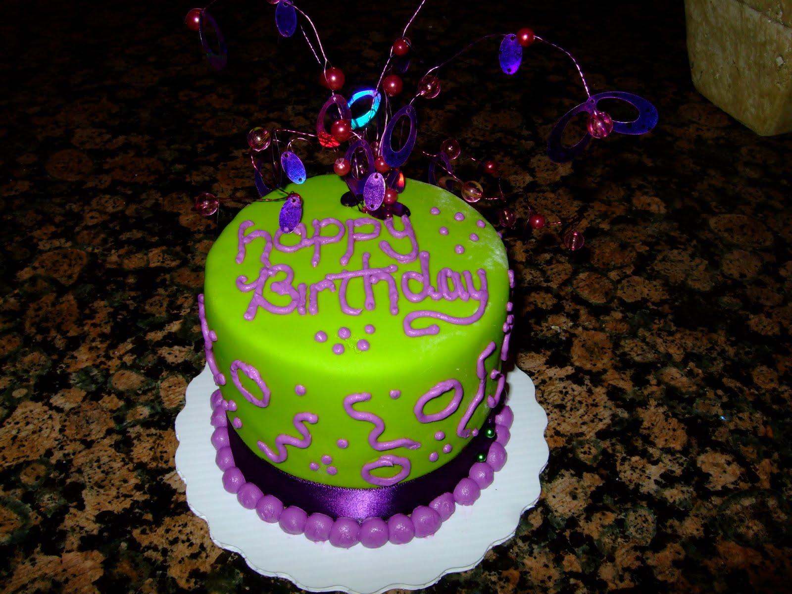 Padicakes Mini Birthday Cake
