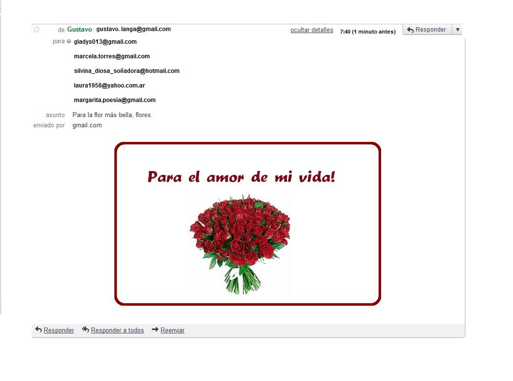 Una Flor Para el Amor de mi Vida Para el Amor de mi Vida