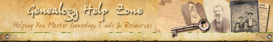 Genealogy Help Zone