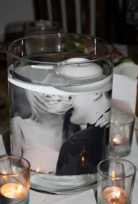 Easy DIY Photo Centerpieces