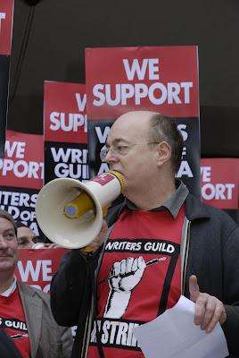 WGA Solidarity demonstration