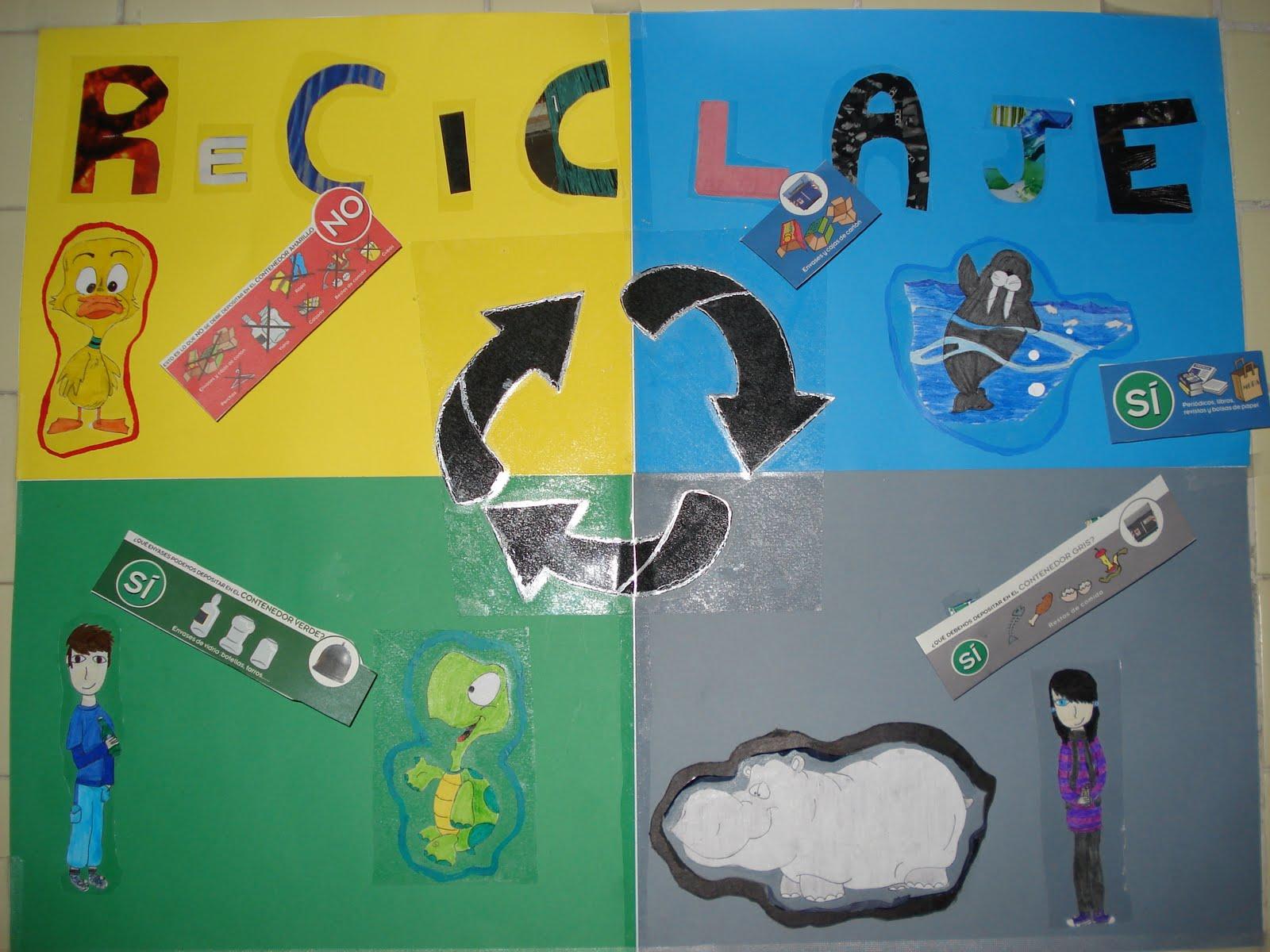 Modelos De Carteleras Hechas De Reciclaje