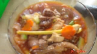Daging Paprik..Mee Kuah..Roti John & Rendang Daging