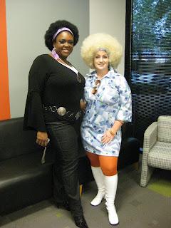 Ebony halloween costume labour. Yes