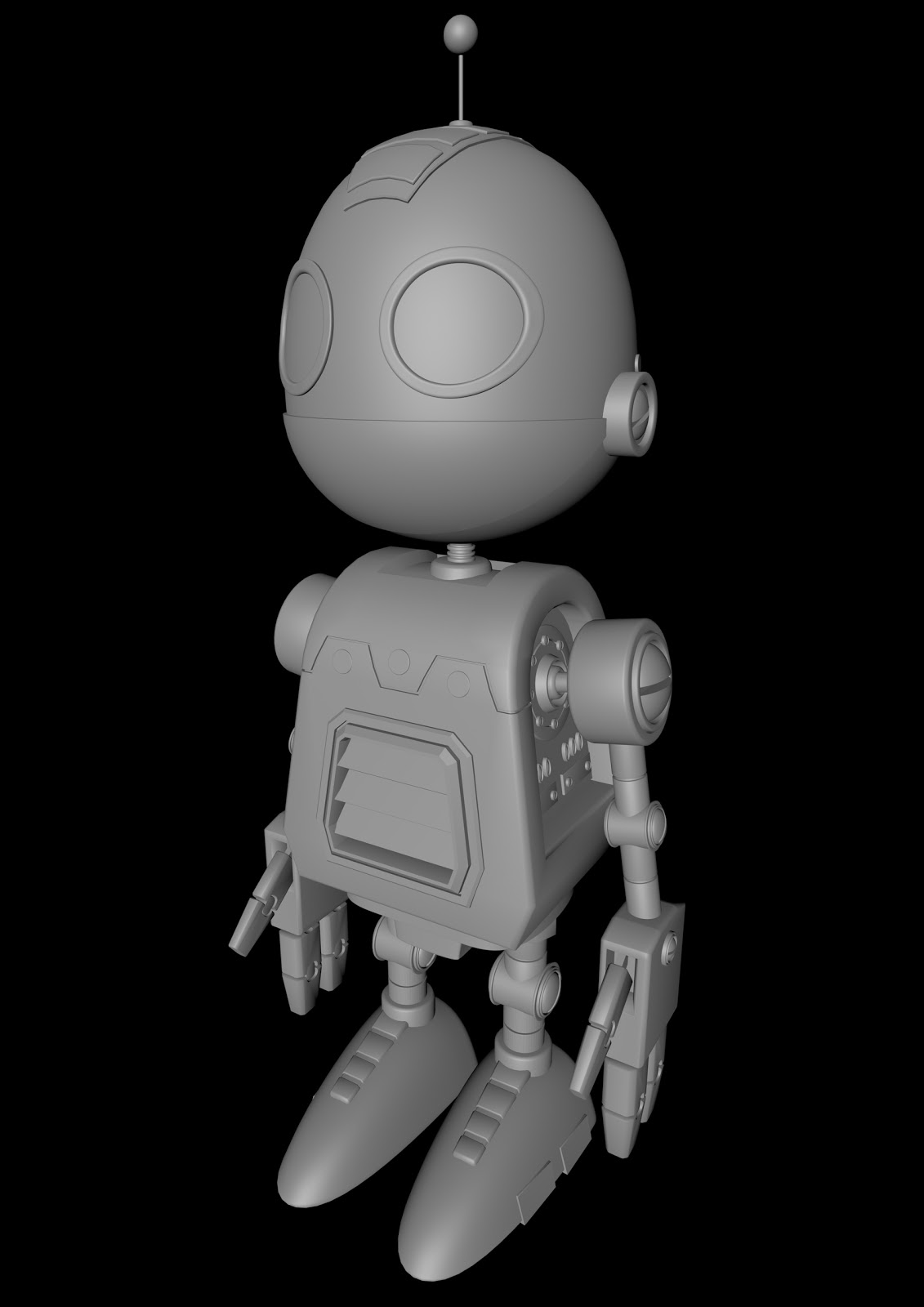 Character Design Cinema 4d Tutorial : Kaye s design cinema d modeling robot
