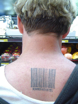 Barcode tattoo - Real numbers by ~cicke99 on deviantART. Barcode Tattoos