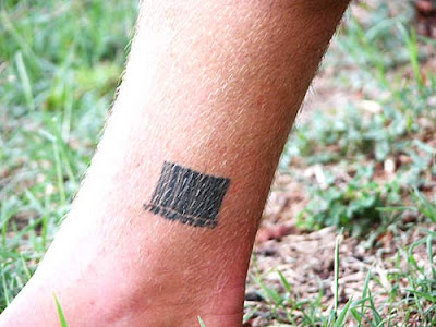 I can imagine all those folk that have barcode tattoos looking at these in