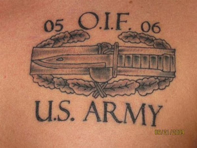 Military tattoos damn cool pictures for Oif tattoo designs