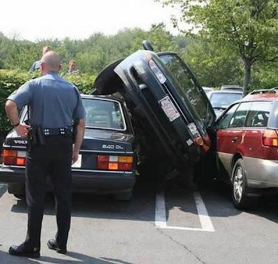 سيارات فى حالات غريبة