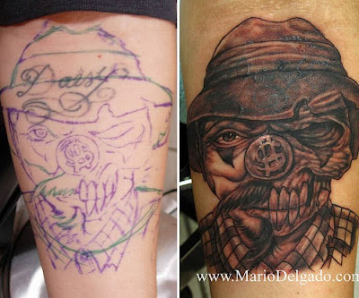 Cover Up Tattoos ~ Damn Cool Pictures