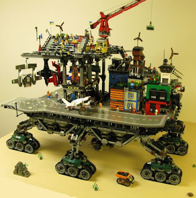 Lego Crawler Town Seen On www.coolpicturegallery.net